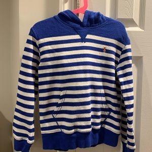 Polo boys hooded sweatshirt